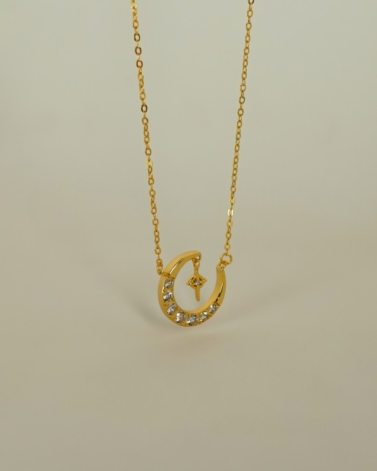 MOONLIGHT Gold Vermeil Necklace