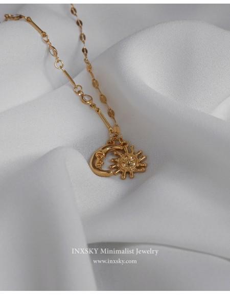 MOON & SUN Necklace