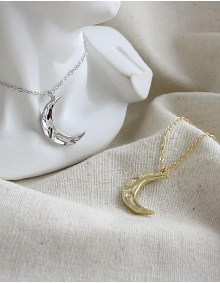 MOON Gold Vermeil Necklace