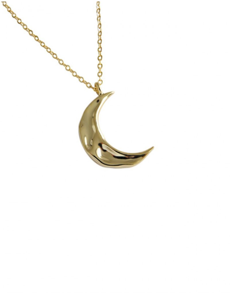 MOON Gold Vermeil Necklace