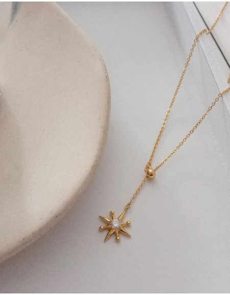 North Star Gold Vermeil Necklace