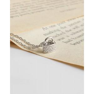PADLOCK Sterling Silver Necklace