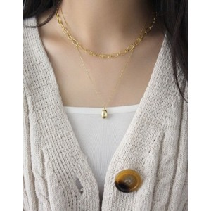 PEBBLE Gold Vermeil Necklace