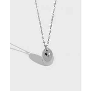 PEBBLE Sterling Silver Necklace
