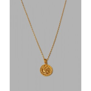 QUEEN Coin Necklace