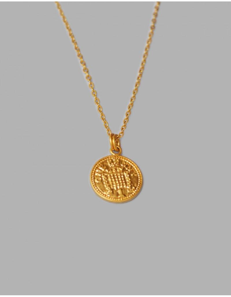 QUEEN Coin Necklace
