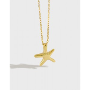 STARFISH Gold Vermeil Necklace