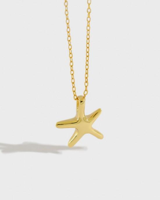 STARFISH Gold Vermeil Necklace
