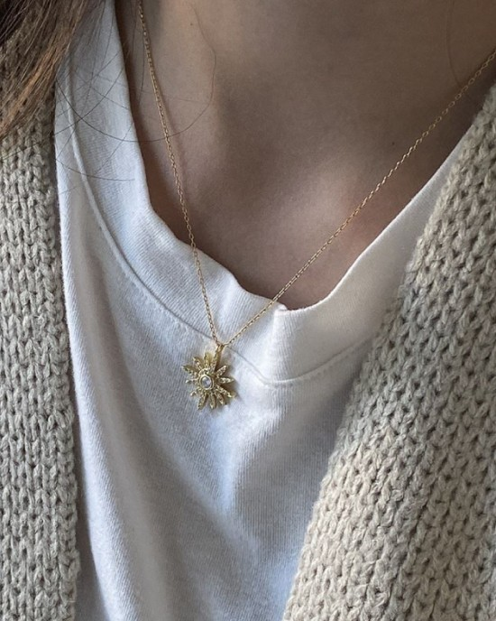 STARLIGHT Gold Vermeil Necklace