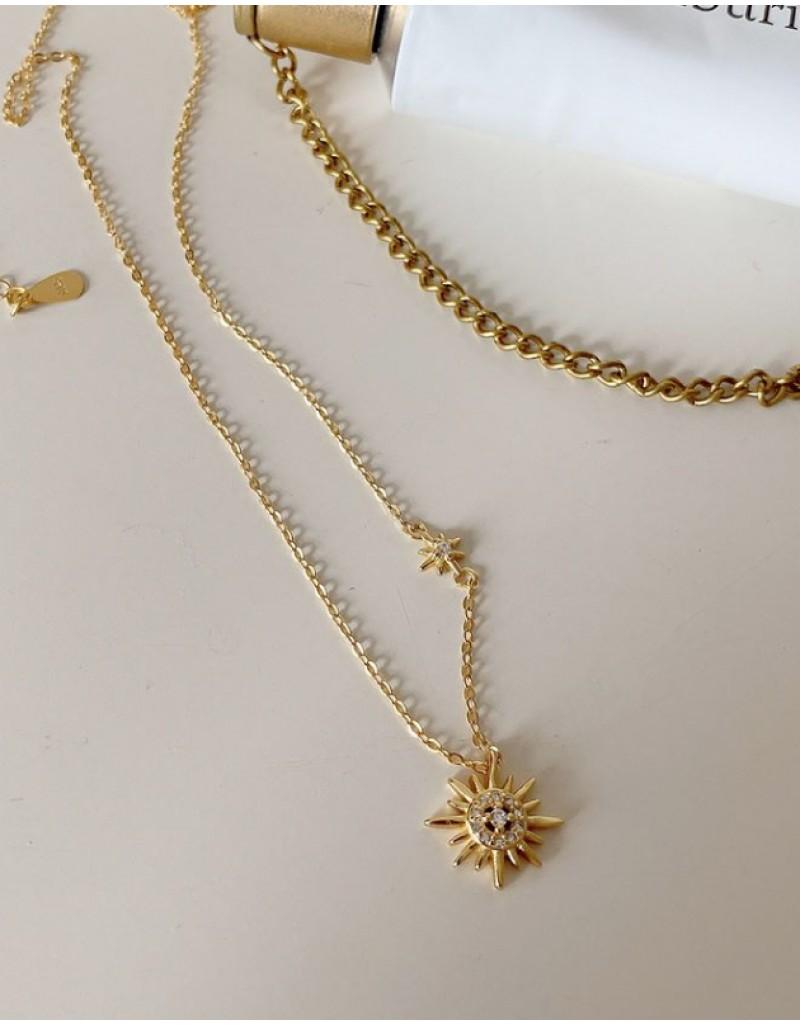 Starshine Gold Vermeil Necklace