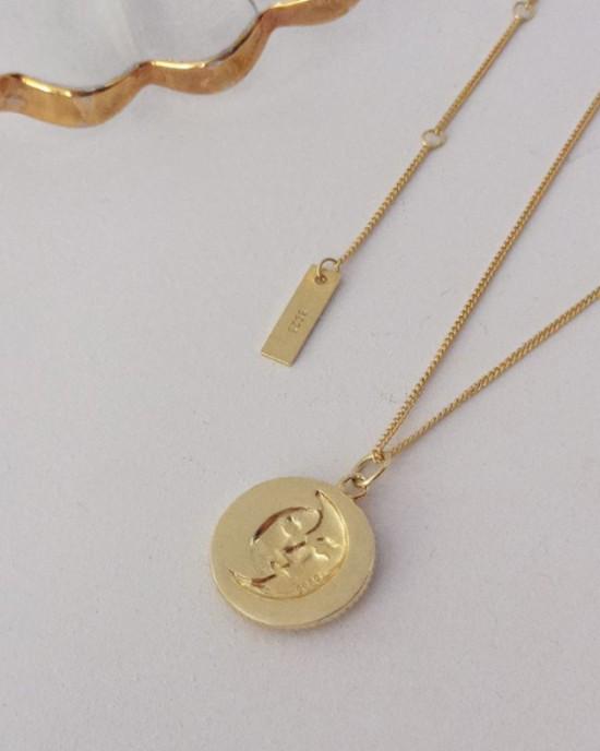 SUNSHINE Gold Vermeil Necklace