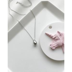 TEARDROP Sterling Silver Necklace