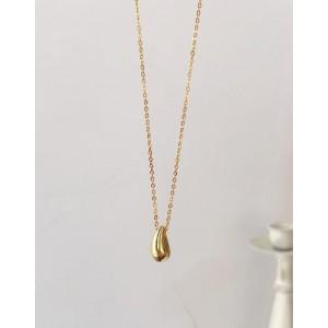 TEARDROP Gold Vermeil Necklace
