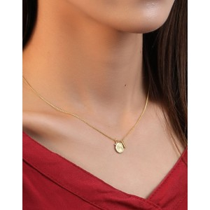 WHEEL Gold Vermeil Necklace