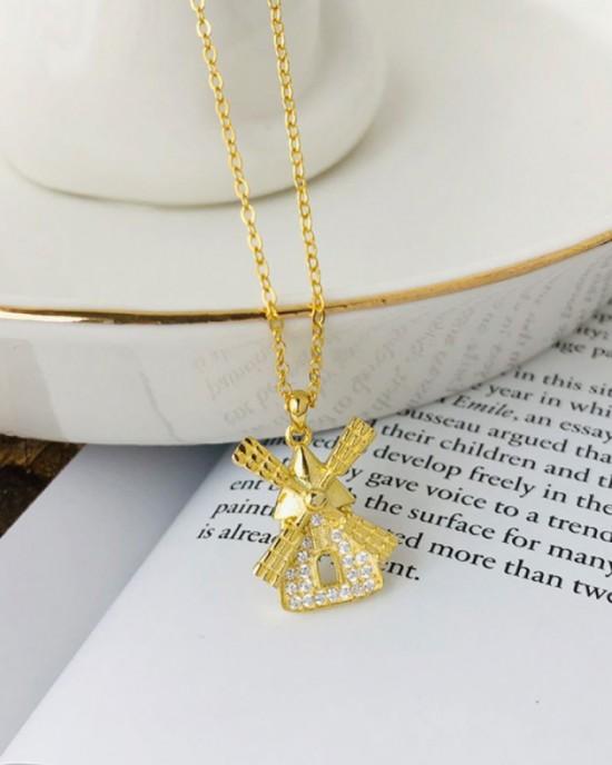 WINDMILL Gold Vermeil Necklace