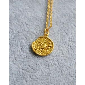 SCORPIO Zodiac Coin Necklace