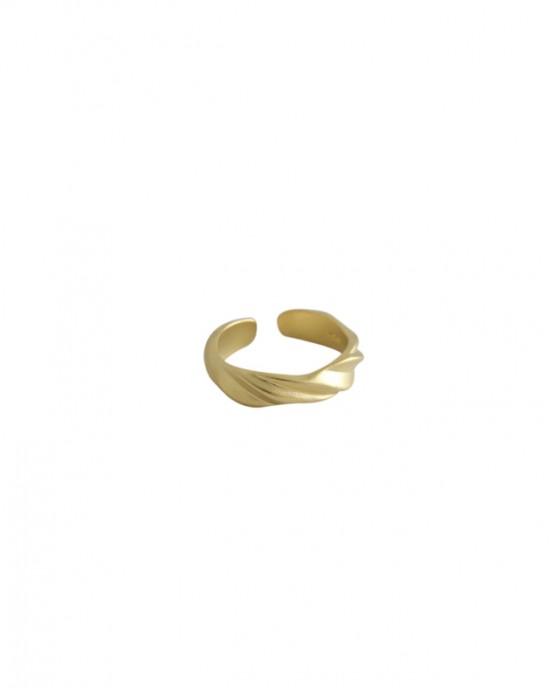ADELINE Matte Gold Vermeil Ring