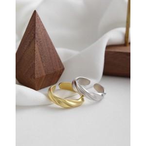 ADELINE Matte Sterling Silver Ring