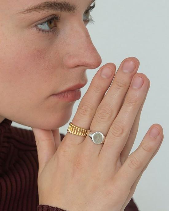 ADELINE Gold Vermeil Ring