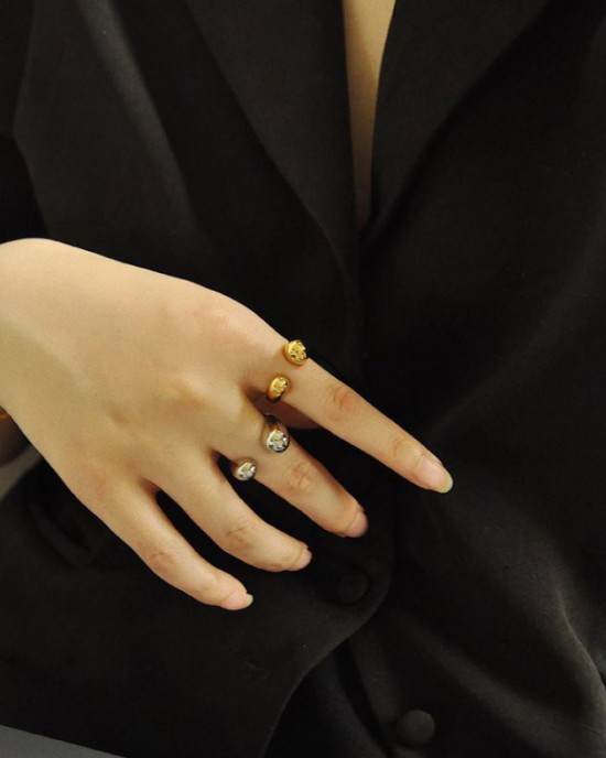 ALINE Silver Ring
