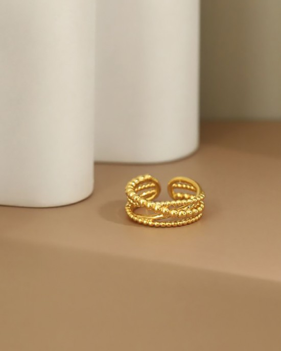 ALLISON Gold Vermeil Ring