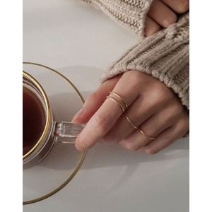 ANAIS Rose Gold Vermeil Ring