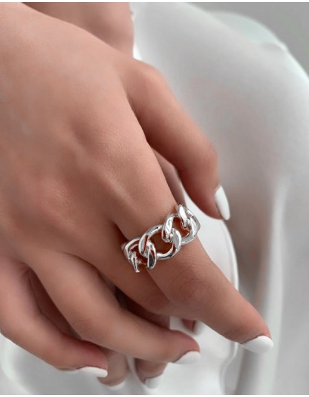 BLAIRE Silver Ring