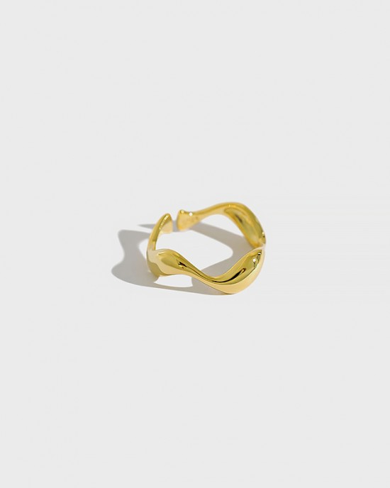 BROOK Gold Vermeil Ring