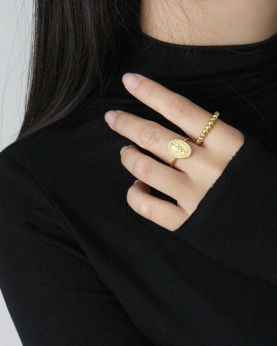 CALLIE Gold Vermeil Ring
