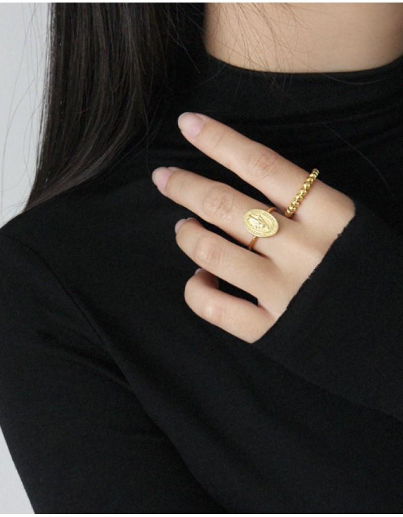 CALLIE Gold Vermeil Ring