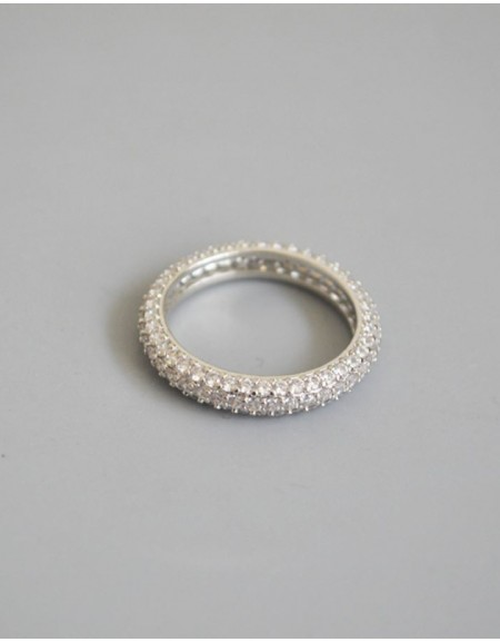 CELESTINE Cubic Zirconia Eternity Ring