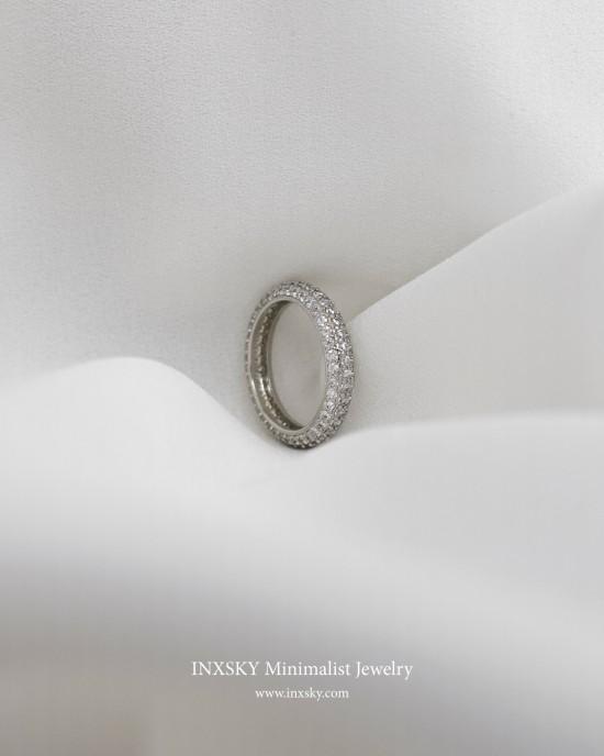CELESTINE Cubic Zirconia Eternity Ring