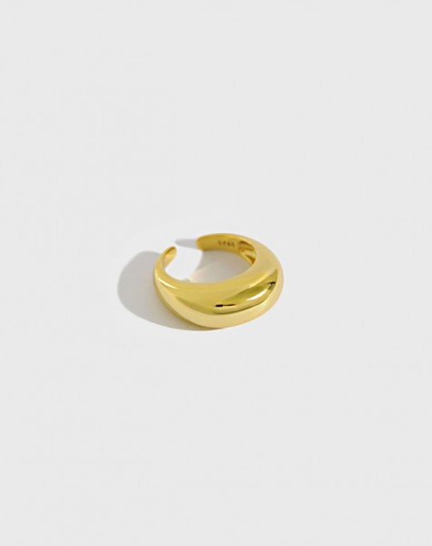 CLARA Gold Vermeil Dome Ring