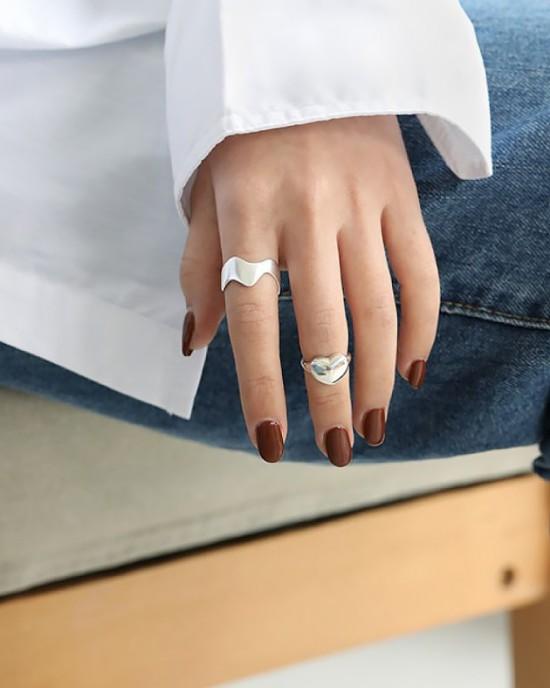 DESIREE Sterling Silver Pinky Ring