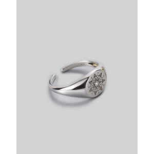 ELVEN Sterling Silver Signet Ring