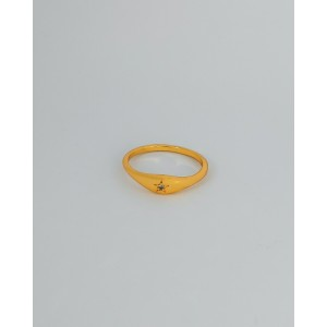 ESTHER Star Demi Signet Ring