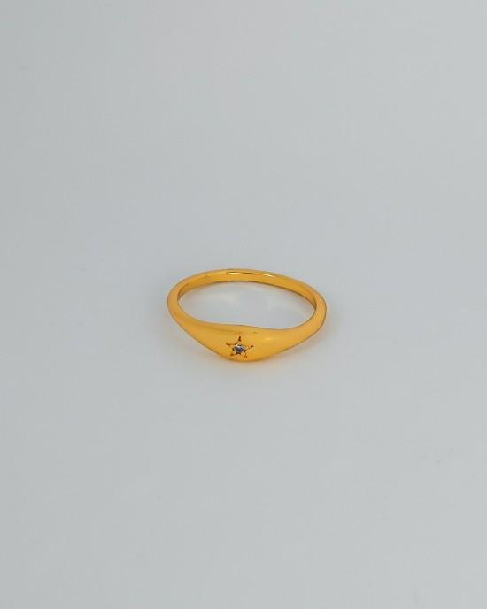 ESTHER Star Demi Signet Ring