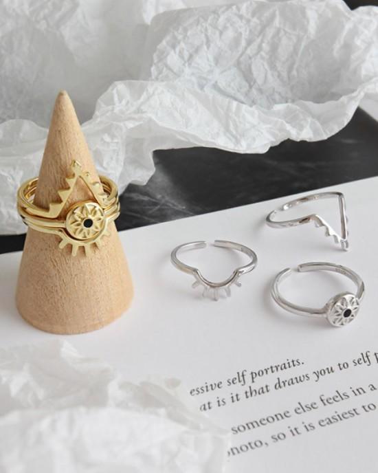 EVIL EYE Gold Vermeil Ring