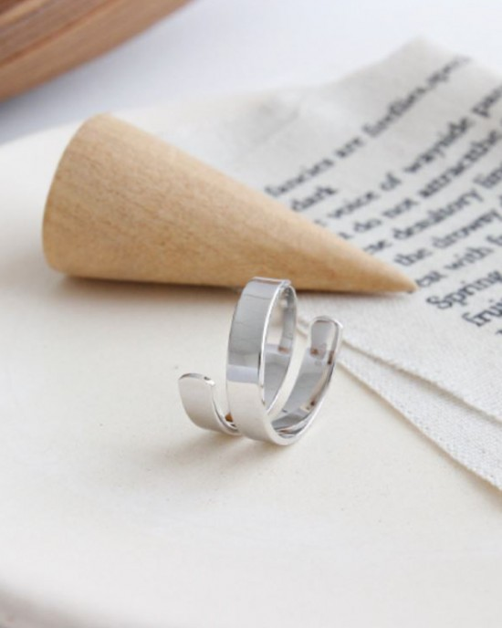 GEMMA Sterling Silver Ring