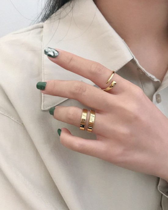 GEMMA Gold Vermeil Ring