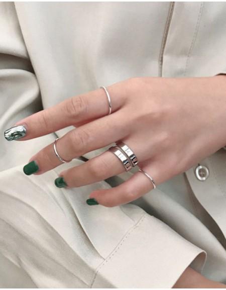 GEMMA Sterling Silver Ring