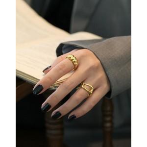 GEORGIA Gold Vermeil Ring