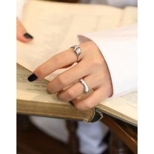 GIOIA Sterling Silver Ring
