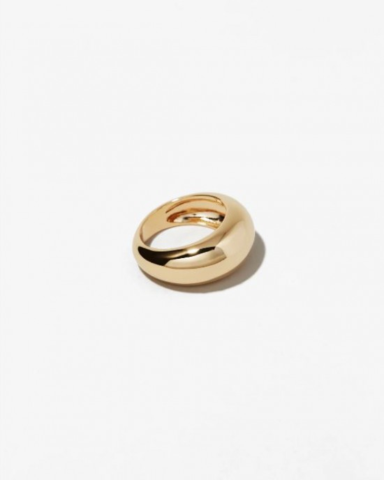GLORIA Gold Dome Ring