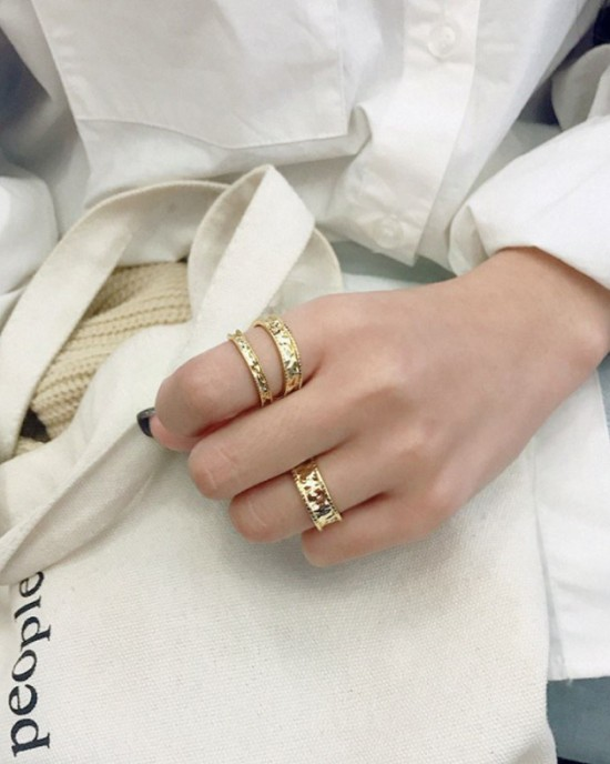 HAILEY Gold Vermeil Ring