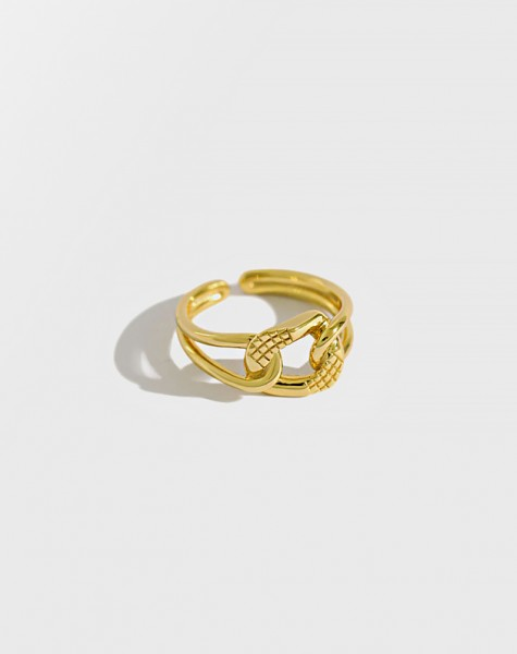 HAYDEN Gold Vermeil Ring