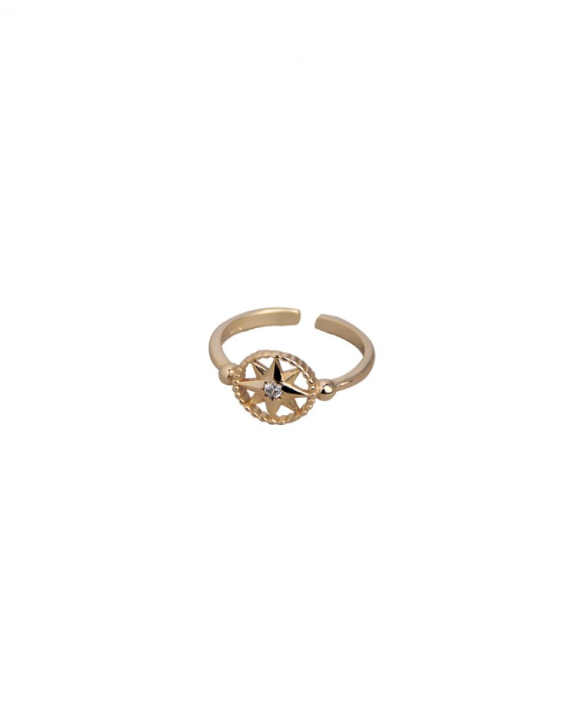 HOPE Gold Vermeil Ring
