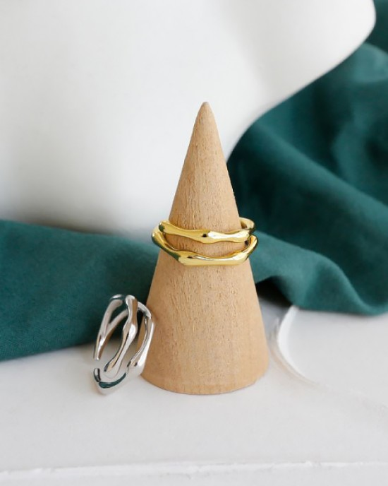 JESSICA Sterling Silver Pinky Ring