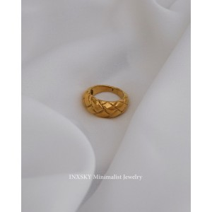 JOANNA Gold Dome Ring