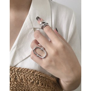 KAIA Silver Pinky Ring